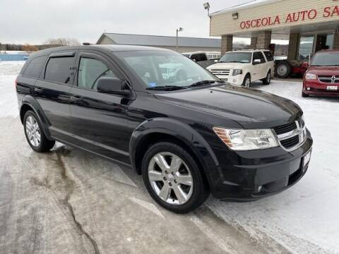 2009 Dodge Journey for sale at Osceola Auto Sales and Service in Osceola WI
