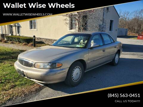 1999 Buick Century for sale at Wallet Wise Wheels in Montgomery NY