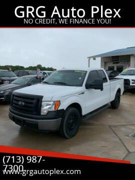 2012 Ford F-150 for sale at GRG Auto Plex in Houston TX