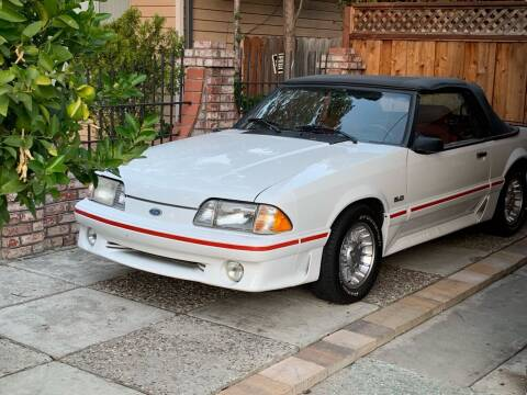 1987 Ford Mustang for sale at BSL Bay Sport & Luxury in Redwood City CA