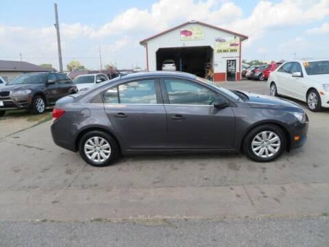 2011 Chevrolet Cruze for sale at Jefferson St Motors in Waterloo IA
