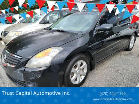 2008 Nissan Altima for sale at Trust Capital Automotive Inc. in Covington GA