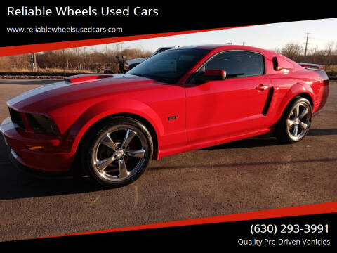2007 Ford Mustang for sale at Reliable Wheels Used Cars in West Chicago IL