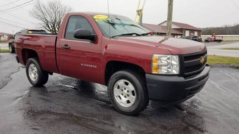 2013 Chevrolet Silverado 1500 for sale at Moores Auto Sales in Greeneville TN