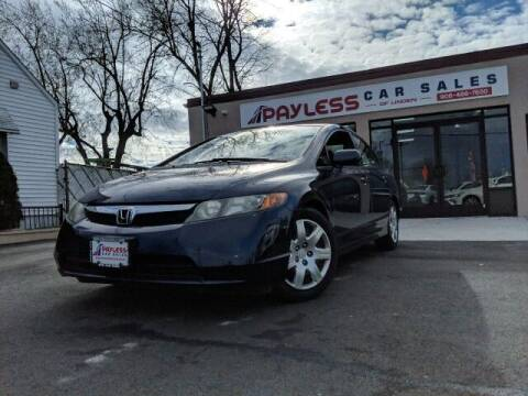 2006 Honda Civic for sale at PAYLESS CAR SALES of South Amboy in South Amboy NJ