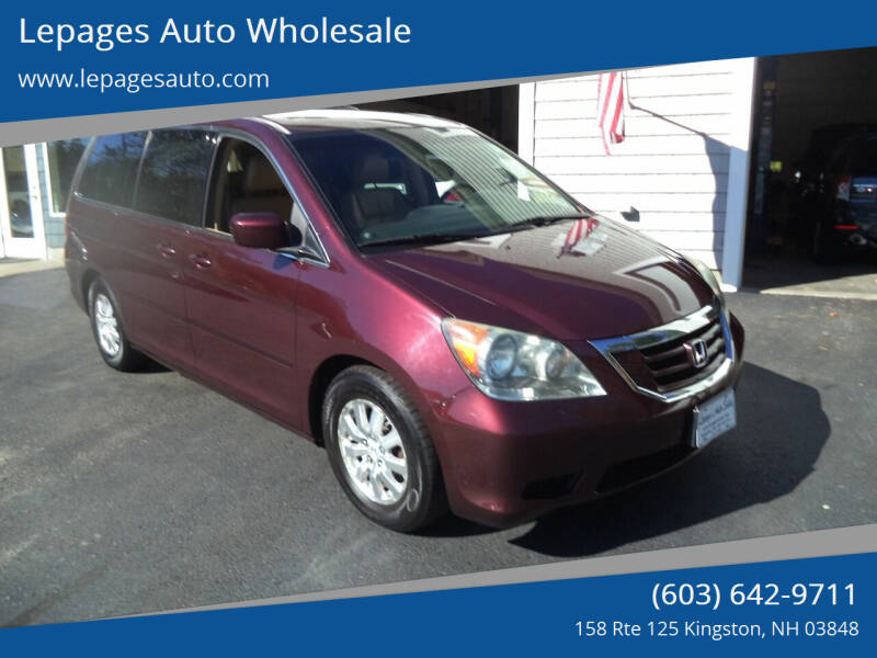2010 Honda Odyssey for sale at Lepages Auto Wholesale in Kingston NH