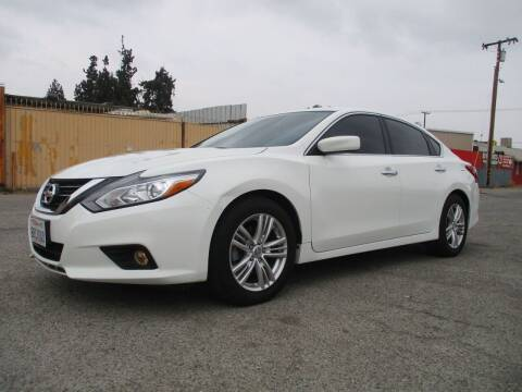 2018 Nissan Altima for sale at E and M Auto Sales in Bloomington CA