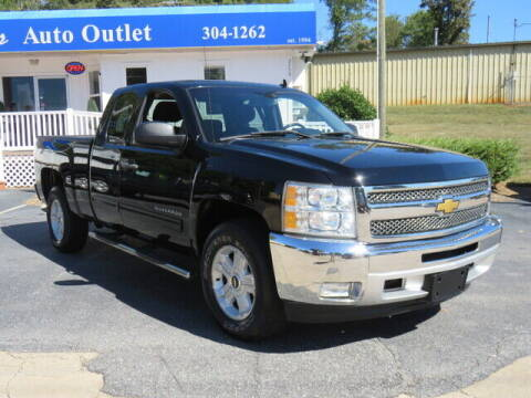 2012 Chevrolet Silverado 1500 for sale at Colbert's Auto Outlet in Hickory NC