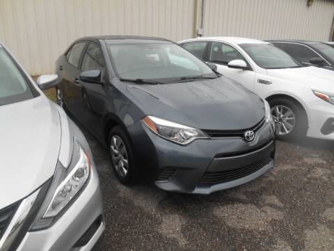 2017 Toyota Corolla for sale at AUTO MART in Montgomery AL