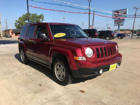 2014 Jeep Patriot for sale at Russell Smith Auto in Fort Worth TX