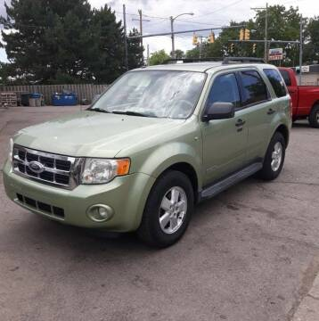2008 Ford Escape for sale at M & C Auto Sales in Toledo OH
