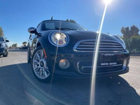 2012 MINI Cooper Coupe for sale at Boktor Motors in Las Vegas NV