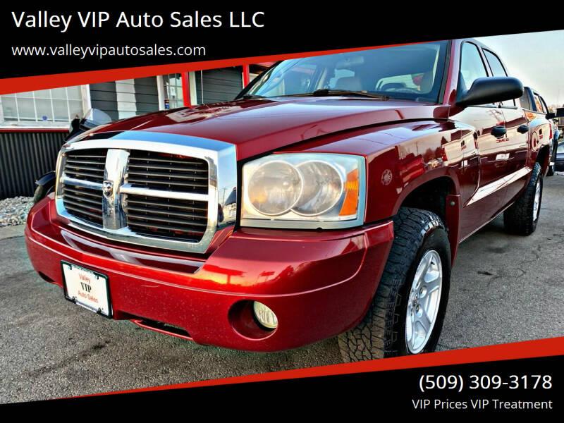 2007 Dodge Dakota for sale at Valley VIP Auto Sales LLC in Spokane Valley WA