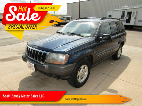 2001 Jeep Grand Cherokee for sale at Scott Spady Motor Sales LLC in Hastings NE