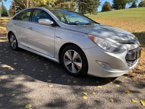 2011 Hyundai Sonata Hybrid for sale at BELOW BOOK AUTO SALES in Idaho Falls ID