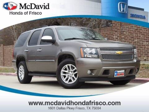 2014 Chevrolet Tahoe for sale at DAVID McDAVID HONDA OF IRVING in Irving TX