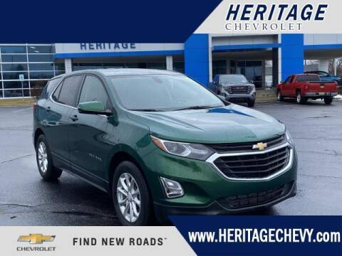 2019 Chevrolet Equinox for sale at HERITAGE CHEVROLET INC in Creek MI