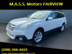 2014 Subaru Outback for sale at M.A.S.S. Motors - Fairview in Boise ID