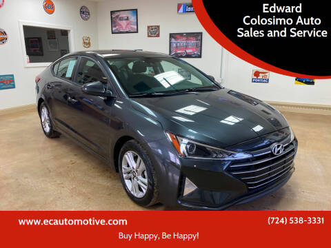 2020 Hyundai Elantra for sale at Edward Colosimo Auto Sales and Service in Evans City PA