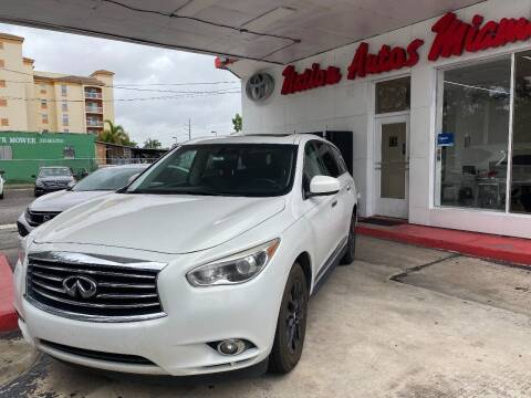 2013 Infiniti JX35 for sale at Nation Autos Miami in Hialeah FL