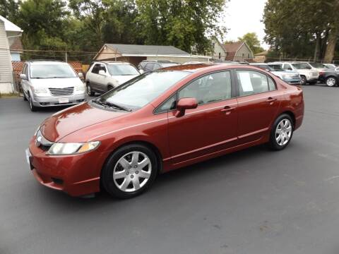 2011 Honda Civic for sale at Goodman Auto Sales in Lima OH