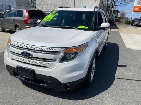 2013 Ford Explorer for sale at Quincy Shore Automotive in Quincy MA