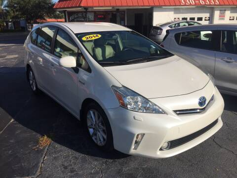 2014 Toyota Prius v for sale at Regal Cars of Florida-Clearwater Hybrids in Clearwater FL