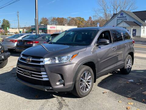2017 Toyota Highlander for sale at Ludlow Auto Sales in Ludlow MA