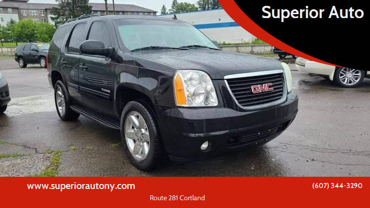 2010 GMC Yukon for sale at Superior Auto in Cortland NY