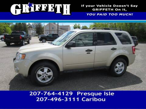 2012 Ford Escape for sale at Griffeth Mitsubishi - Pre-owned in Caribou ME