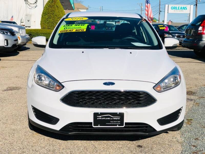 2016 Ford Focus for sale at Cape Cod Cars & Trucks in Hyannis MA
