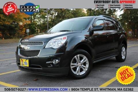 2012 Chevrolet Equinox for sale at Auto Sales Express in Whitman MA