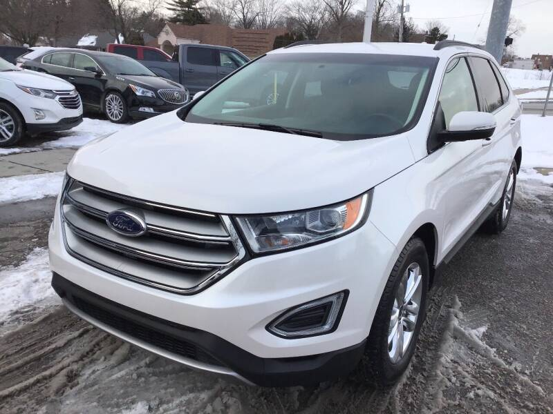 2018 Ford Edge for sale at One Price Auto in Mount Clemens MI