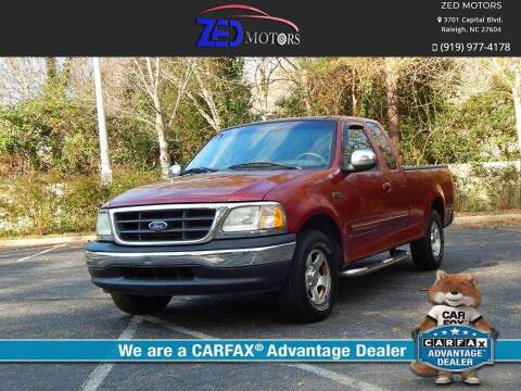 2001 Ford F-150 for sale at Zed Motors in Raleigh NC