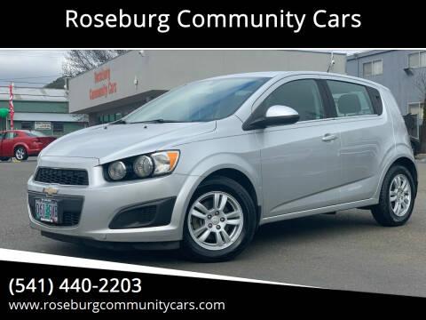 2014 Chevrolet Sonic for sale at Roseburg Community Cars in Roseburg OR