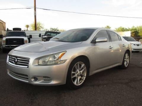 2013 Nissan Maxima for sale at Van Buren Motors in Phoenix AZ