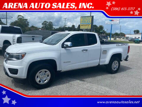2016 Chevrolet Colorado for sale at ARENA AUTO SALES,  INC. in Holly Hill FL