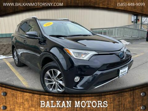2016 Toyota RAV4 Hybrid for sale at BALKAN MOTORS in East Rochester NY