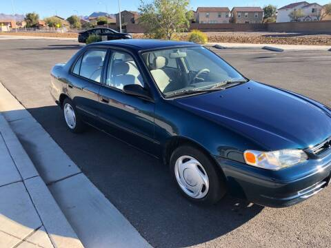 1998 Toyota Corolla for sale at GEM Motorcars in Henderson NV