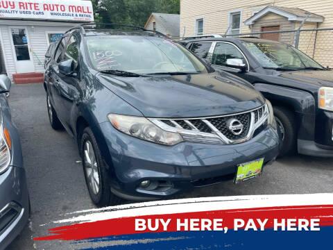 2013 Nissan Murano for sale at BUY RITE AUTO MALL LLC in Garfield NJ