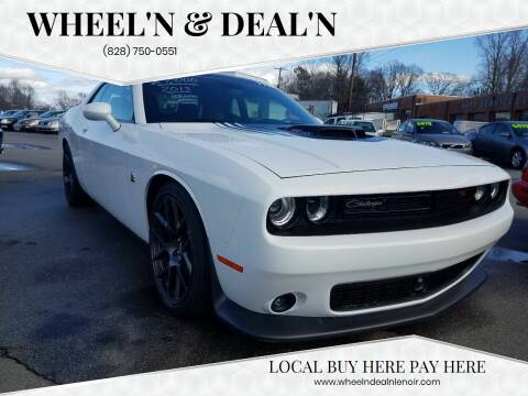 2015 Dodge Challenger for sale at Wheel'n & Deal'n in Lenoir NC
