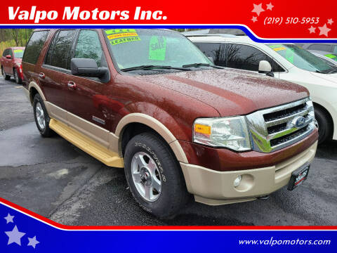 2007 Ford Expedition for sale at Valpo Motors Inc. in Valparaiso IN