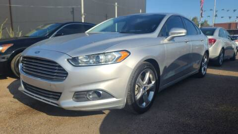 2015 Ford Fusion for sale at Fast Trac Auto Sales in Phoenix AZ