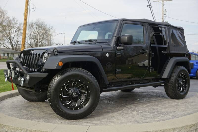 2016 Jeep Wrangler Unlimited for sale at Platinum Motors LLC in Heath OH
