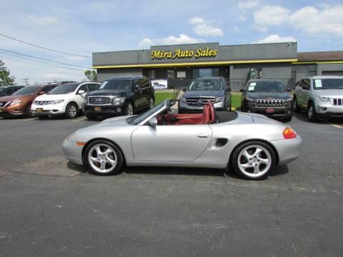 1999 Porsche Boxster for sale at MIRA AUTO SALES in Cincinnati OH