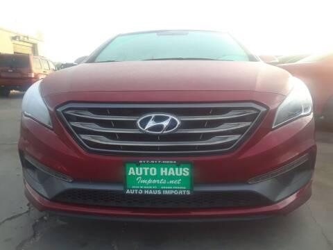 2016 Hyundai Sonata for sale at Auto Haus Imports in Grand Prairie TX