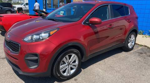 2017 Kia Sportage for sale at M-97 Auto Dealer in Roseville MI