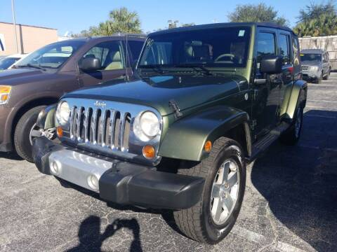 2008 Jeep Wrangler Unlimited for sale at Castle Used Cars in Jacksonville FL