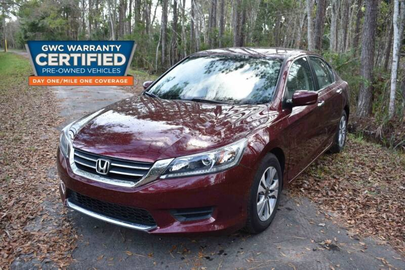 2014 Honda Accord for sale at All About Price in Bunnell FL