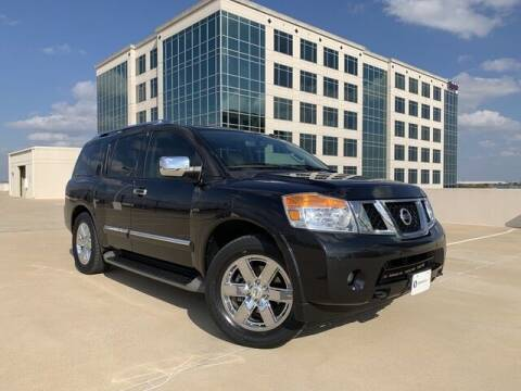 2013 Nissan Armada for sale at SIGNATURE Sales & Consignment in Austin TX